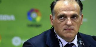 La Liga president, Javier Tebas
