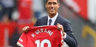 Raphael Varane will play at Old Trafford until 2025