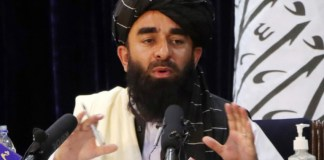 Taliban spokesman Zabihullah Mujahid
