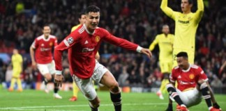 Ronaldo scored in the 95th minute to hand Man Utd a desired win at Old Trafford