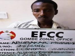 court Abubakar Mohammed jailed for attempted bank fraud in Gombe
