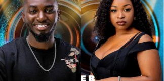 BBNaija housemates, Jaypaul and Jackie B have been evicted
