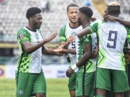 Iheanacho scored twice for Nigeria against Liberia
