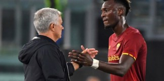 Jose Mourinho is impressed with Tammy Abraham since he joined AS Roma in August