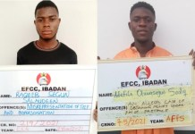 EFCC secures three internet fraud convictions in Ibadan