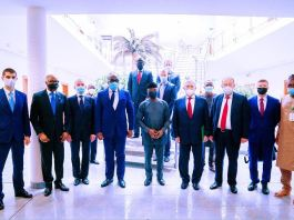 Vice President Yemi Osinbajo SAN receives the Nigerian-Russian Chamber of Commerce and Industry at the State House, Abuja.
