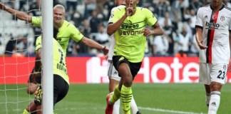 Jude Bellingham opened the scoring for Dortmund against Besiktas