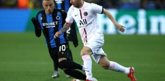 Messi kept quiet as PSG draw at Bruges