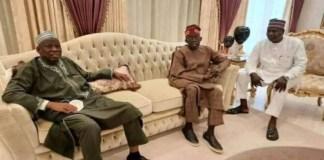 Kano state Governor Abdullahi Ganduje visits Bola Ahmed Tinubu in London