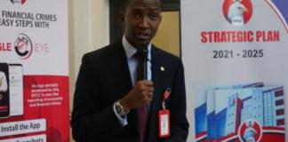 Executive Chairman of the EFCC Abdulrasheed Bawa