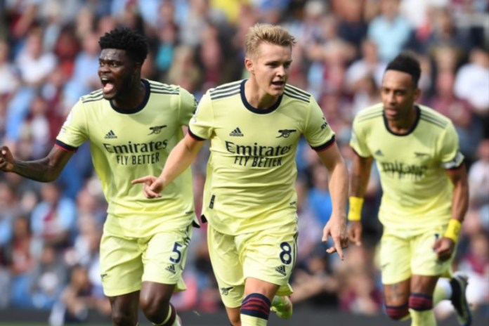 Martin Odegaard Converted a free kick to seal Arsenal's victory at Burnley