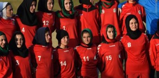 The first Afghanistan women's football team was formed in 2007