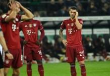 Bayern lost 5-0 to Borussia Monchengladbach
