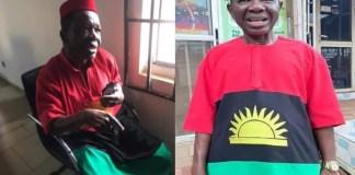 Chiwetalu Agu arrested while donning IPOB attire