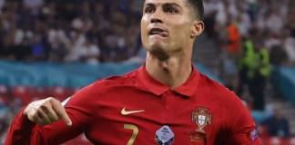 Cristiano Ronaldo scored a hat-trick for Portugal