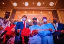 Osinbajo commissions Reddington's new health facility