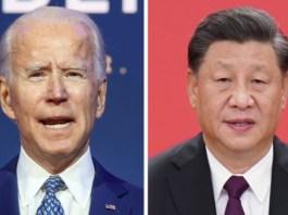 Joe Biden and Chinese President Xi Jinping
