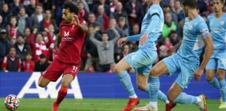 Liverpool drew Man City in 4-goal thriller