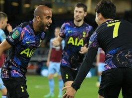 Lucas Moura scored the only goal of the match to put Tottenham ahead