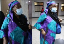 Mrs Grace Taiga was re-arraigned by EFCC