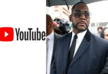 R. Kelly's official channels have been removed from Youtube