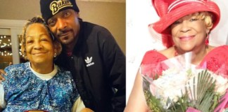 Snoop Dogg's mum is dead