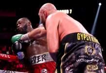 Tyson Fury was twice knocked down by Deontay Wilder but he still went to win the fight