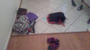 My kid's version of organization