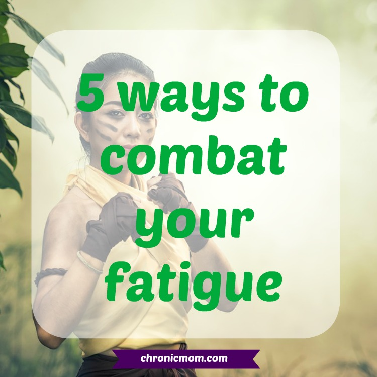 5 ways to combat your fatigue