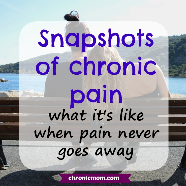 snapshots of chronic pain