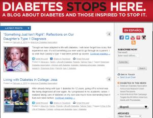 Diabetes Stops Here Blog