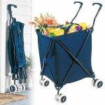 stroller style cart
