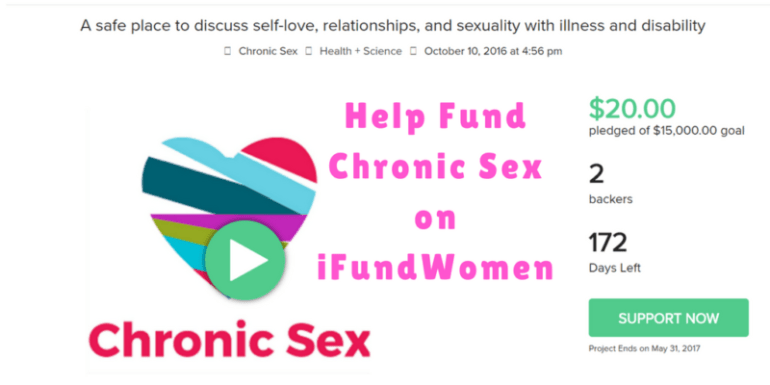 help fund chronic sex on ifundwomen