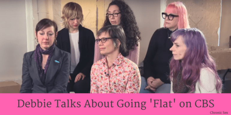 Debbie Talks About Going 'Flat' on CBS