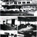 Gemeindehaus Obsteig mit den Gemeinschaftsräumen 1. Gemeindeam, 2. Raika, 3. Post, 4. Tourismus
