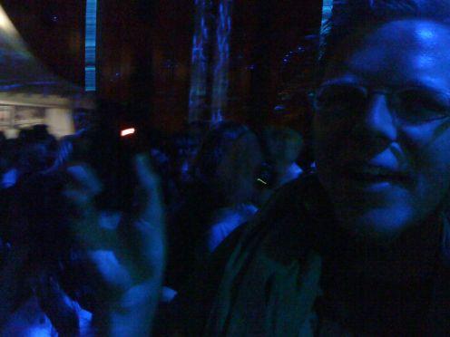 Ich auf der Silent Metro Party 2010