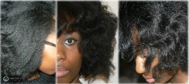Brushing flou sur cheveux créus