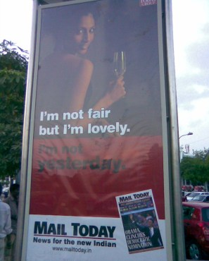 I am not fair but I'm lovely  campaign