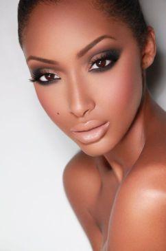 contouring peau noire