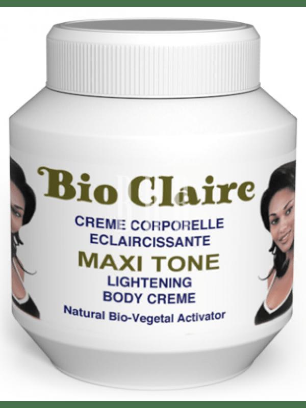 Bio Claire - Crème corporelle éclaircissante sans hydroquinone – Activateur Bio-Végétal Naturel Image