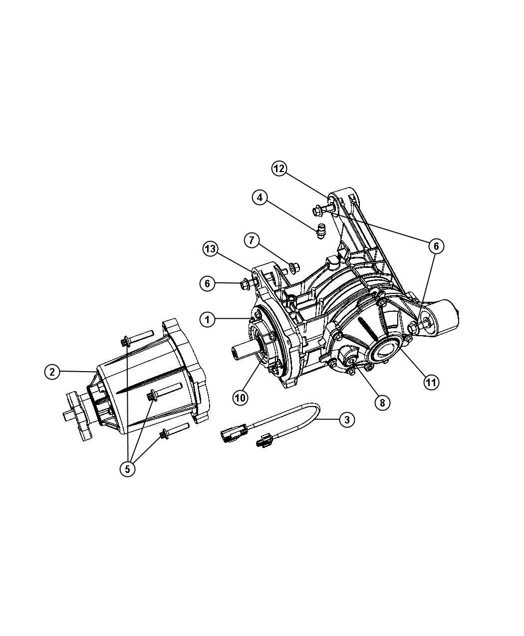 Chrysler Pacifica Bdorc Viscous Unit Kit Rear Axle