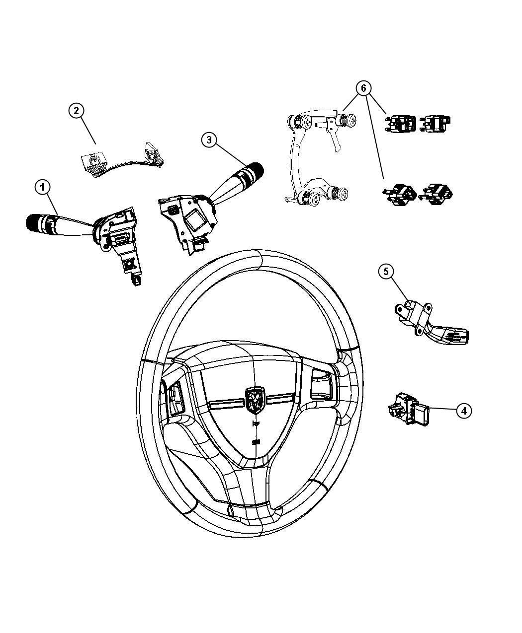Chrysler Pt Cruiser Switch Horn Speed Control