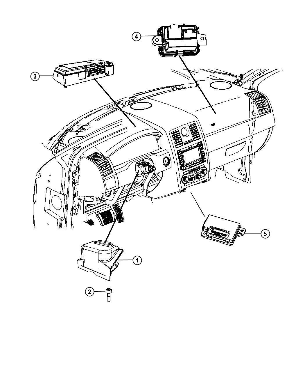 Chrysler 300 Module Telematics
