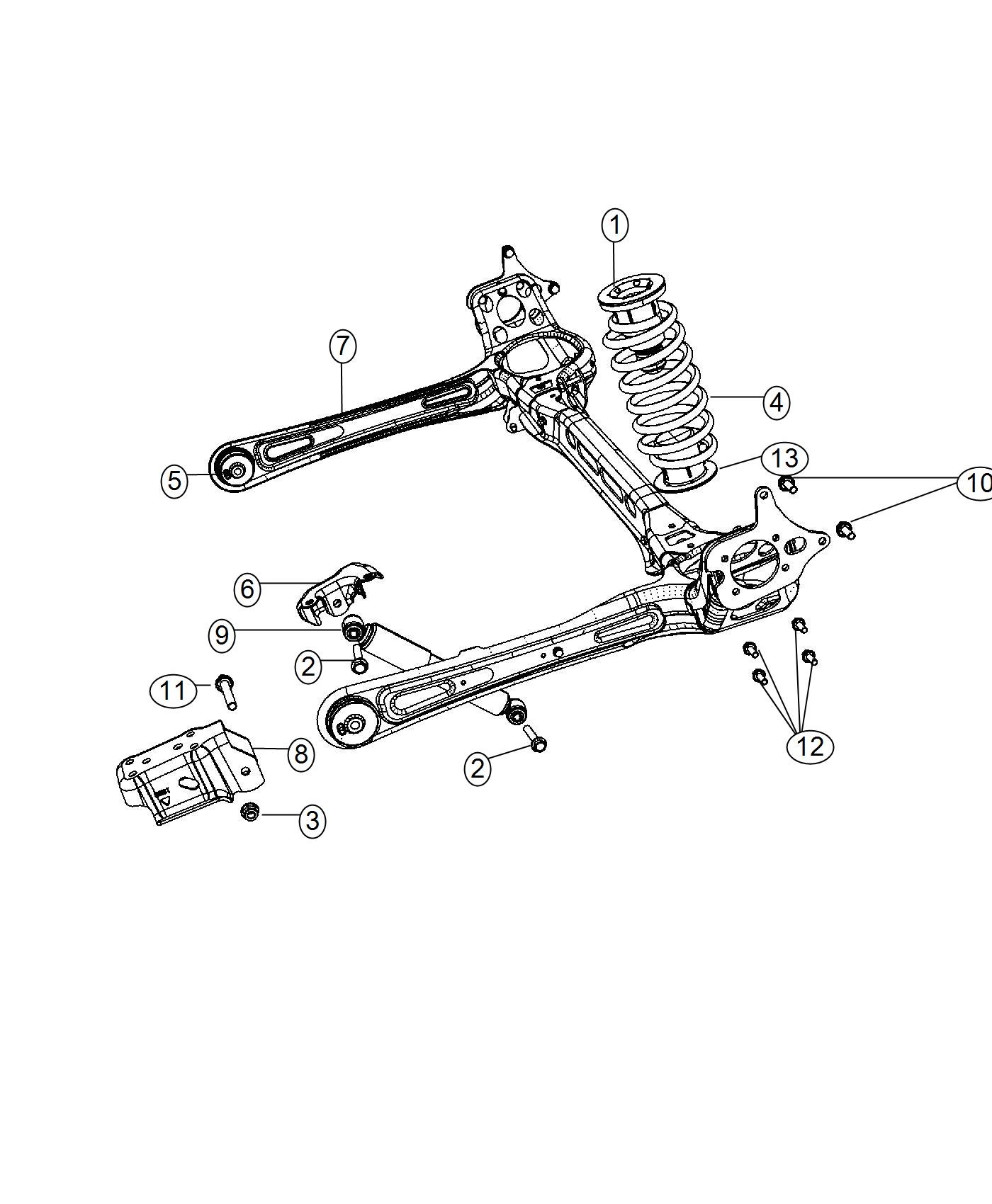 Chrysler Town Amp Country Bushing Control Arm