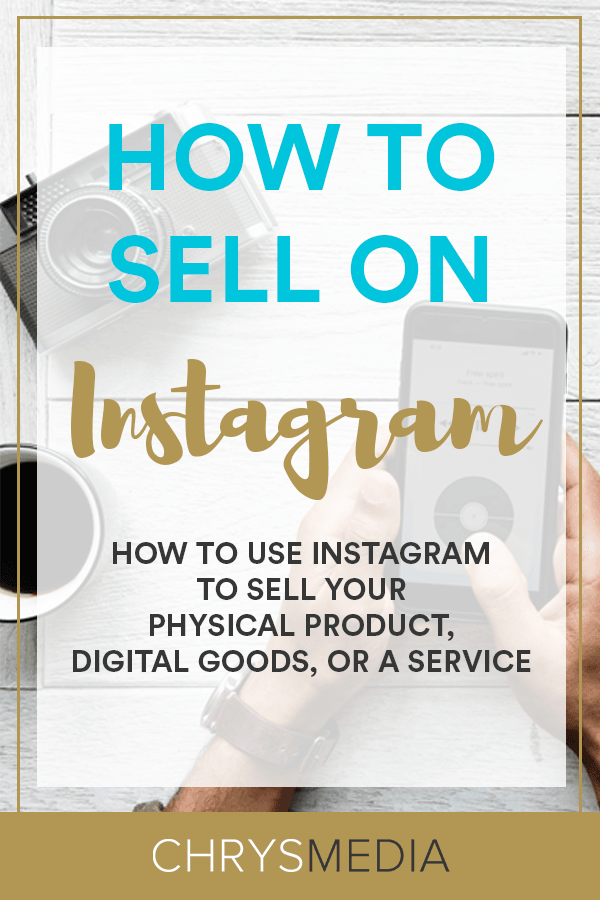 How To Sell On Instagram Pin