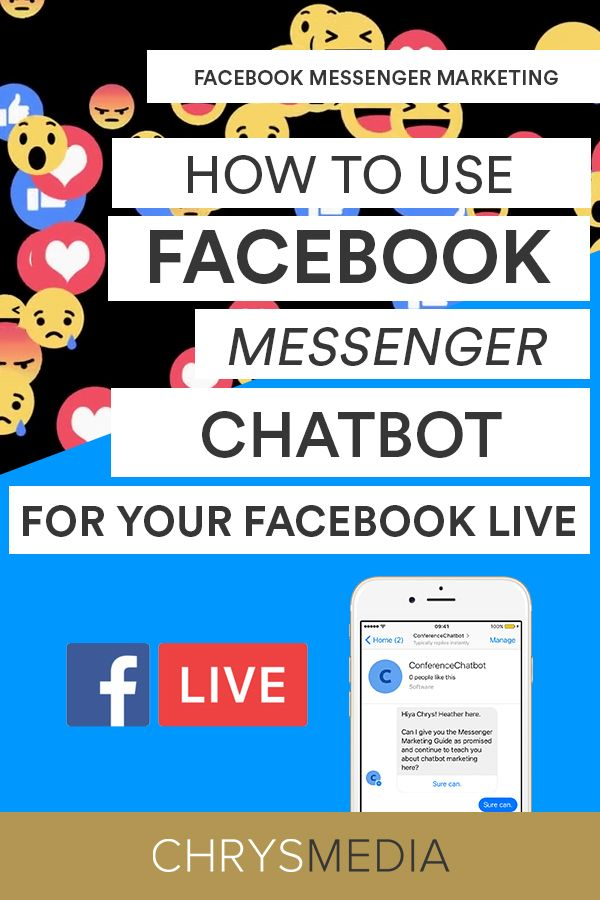 How to use Facebook Messenger Chatbot for your Facebook Live