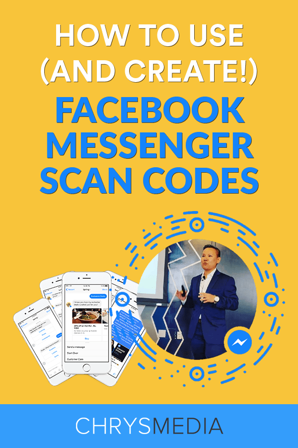 How to use and create Facebook Messenger Scan Codes