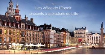 Braderie de Lille - Les velos de l'espoir