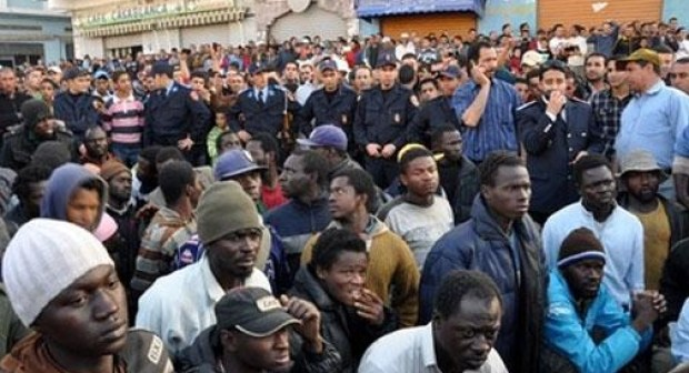 السلطات ترسل دفعة جديدة من مهاجري جنوب الصحراء نحو سوس