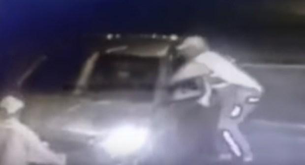 بالفيديو..لحظة جر عامل محطة البنزين بأكادير بسيارة والتي أدت لمقتله بطريقة بشعة